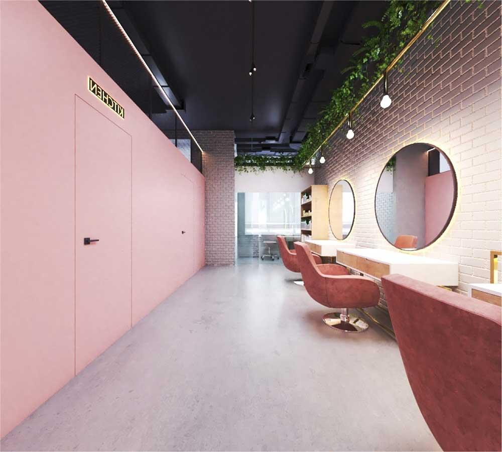Изображение рабочего места в салоне красоты b-hub в Софиевской Борщаговке